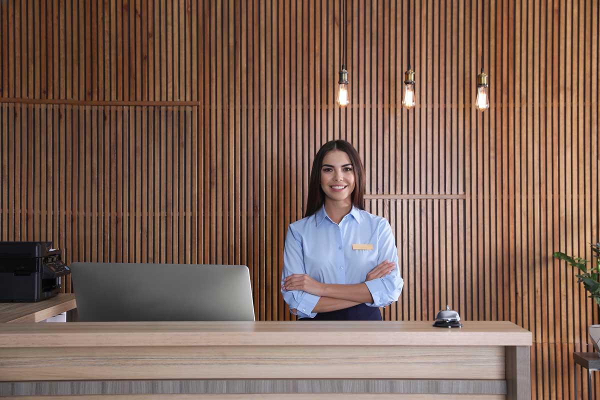 Standbetreuung und Kundenservice